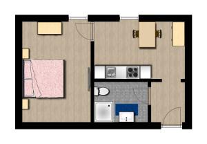 Grundriss Appartement Hermi